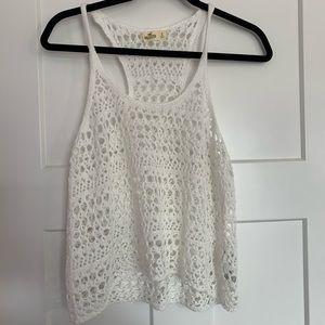 ❗️Hollister Crochet Tank Top